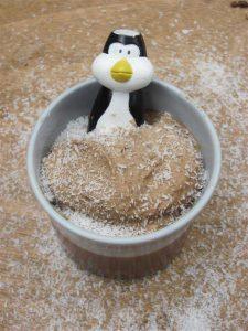 פינגווין בגלידת קוקוס